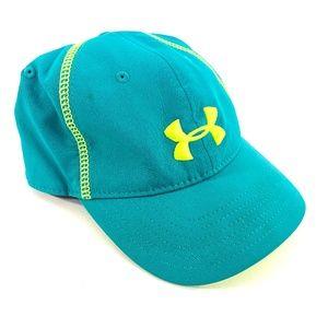 Under Armor teal/ green baseball hat